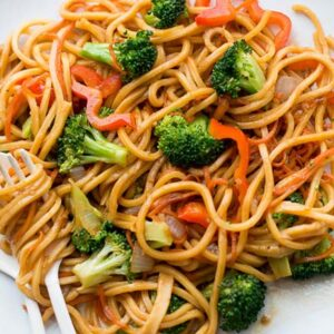Vegetable Chowmein (Noodles)