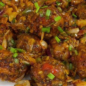 Vegetable Manchurian Dry No Rice